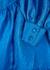 Jasmine blue taffeta mini dress - Stine Goya