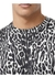 Leopard print cotton oversized t-shirt - Burberry