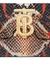 Small python print leather TB bag - Burberry