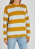 Striped distressed wool jumper - Marc Jacobs