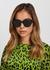 Dior ID1 black square-frame sunglasses - Dior