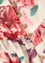 About Us floral-print chiffon midi dress - KEEPSAKE