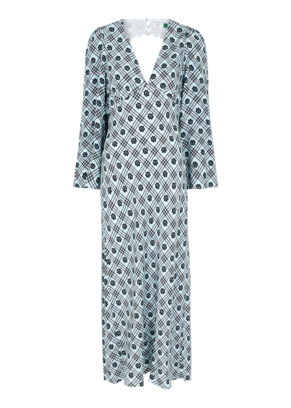 Nadia printed midi dress