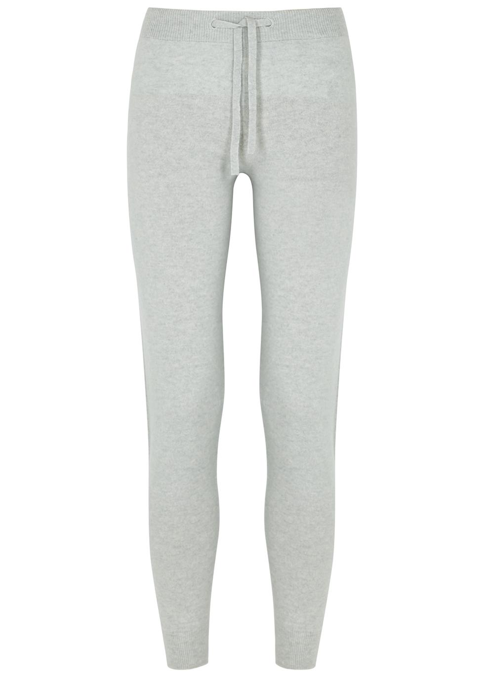 Loretta light grey cashmere sweatpants