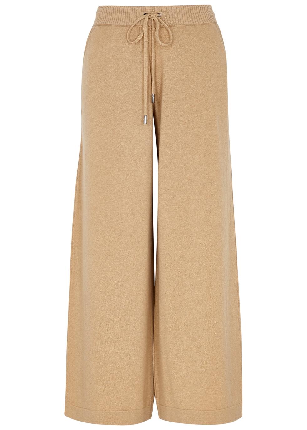 Colette camel cashmere sweatpants