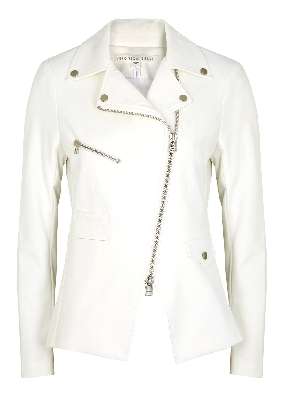 Scuba Hadley white stretch-cady jacket