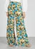 Floral-print wide-leg trousers - M Missoni