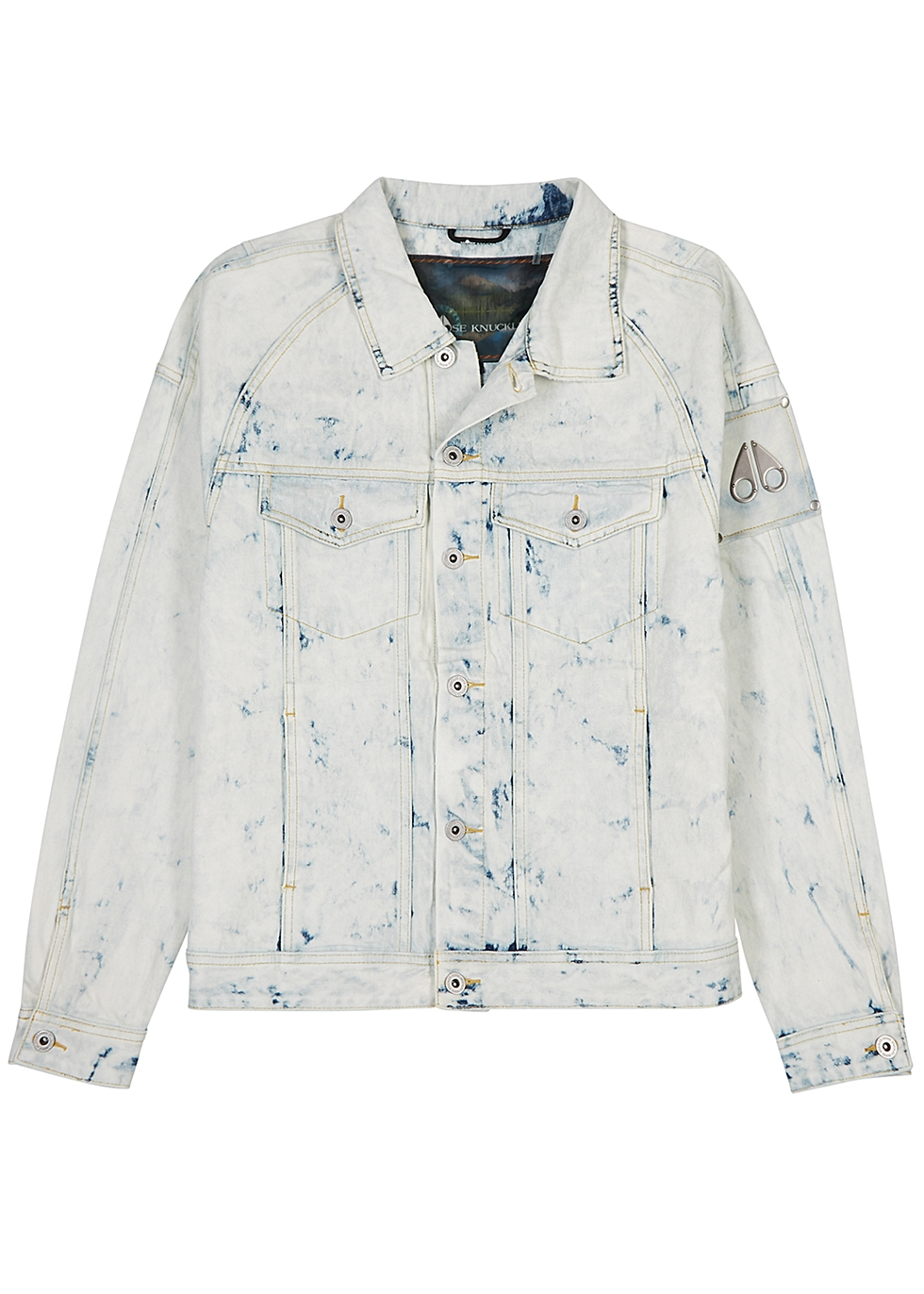 Scarboro bleached denim jacket