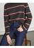 Cashmere stripe slouchy jumper - Jigsaw