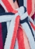 Medina striped terry robe - Desmond & Dempsey