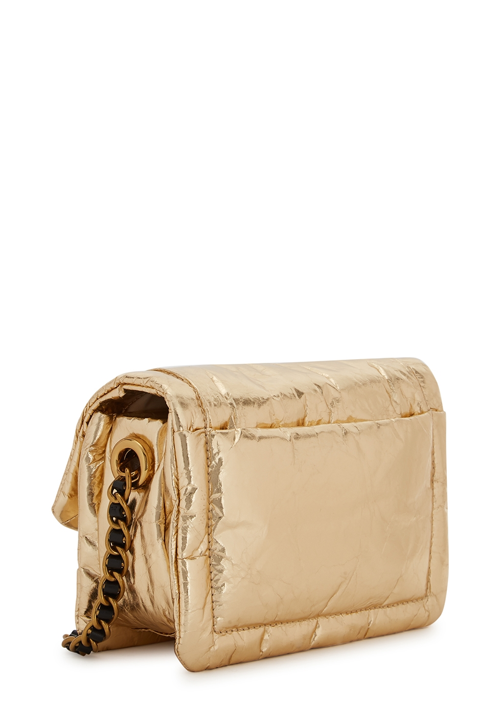 Marc Jacobs The Mini Pillow gold cross
