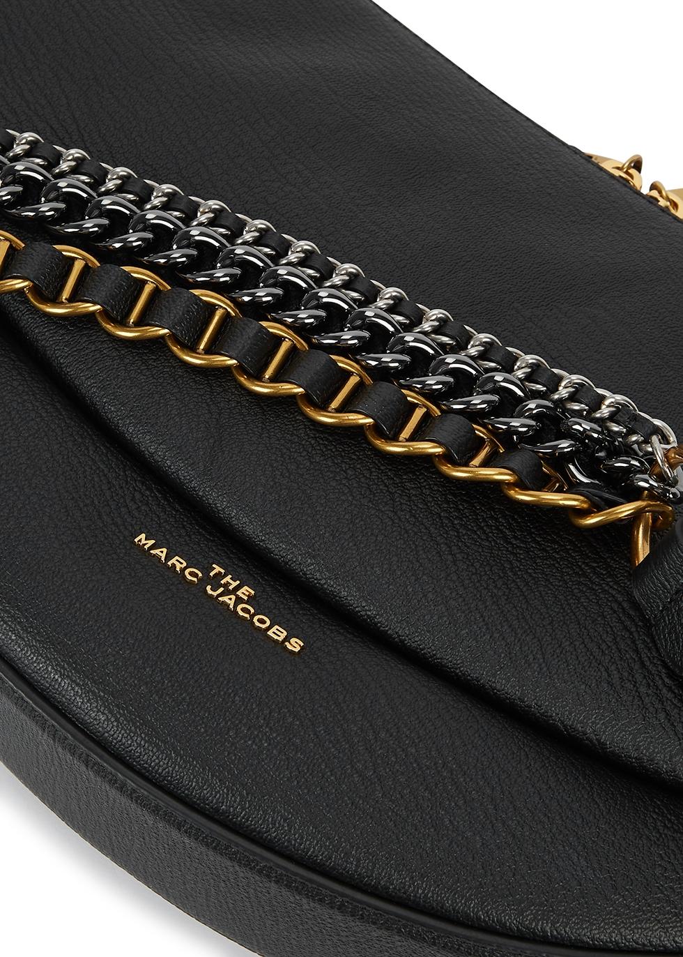 Marc Jacobs The Eclipse mini black leather shoulder bag