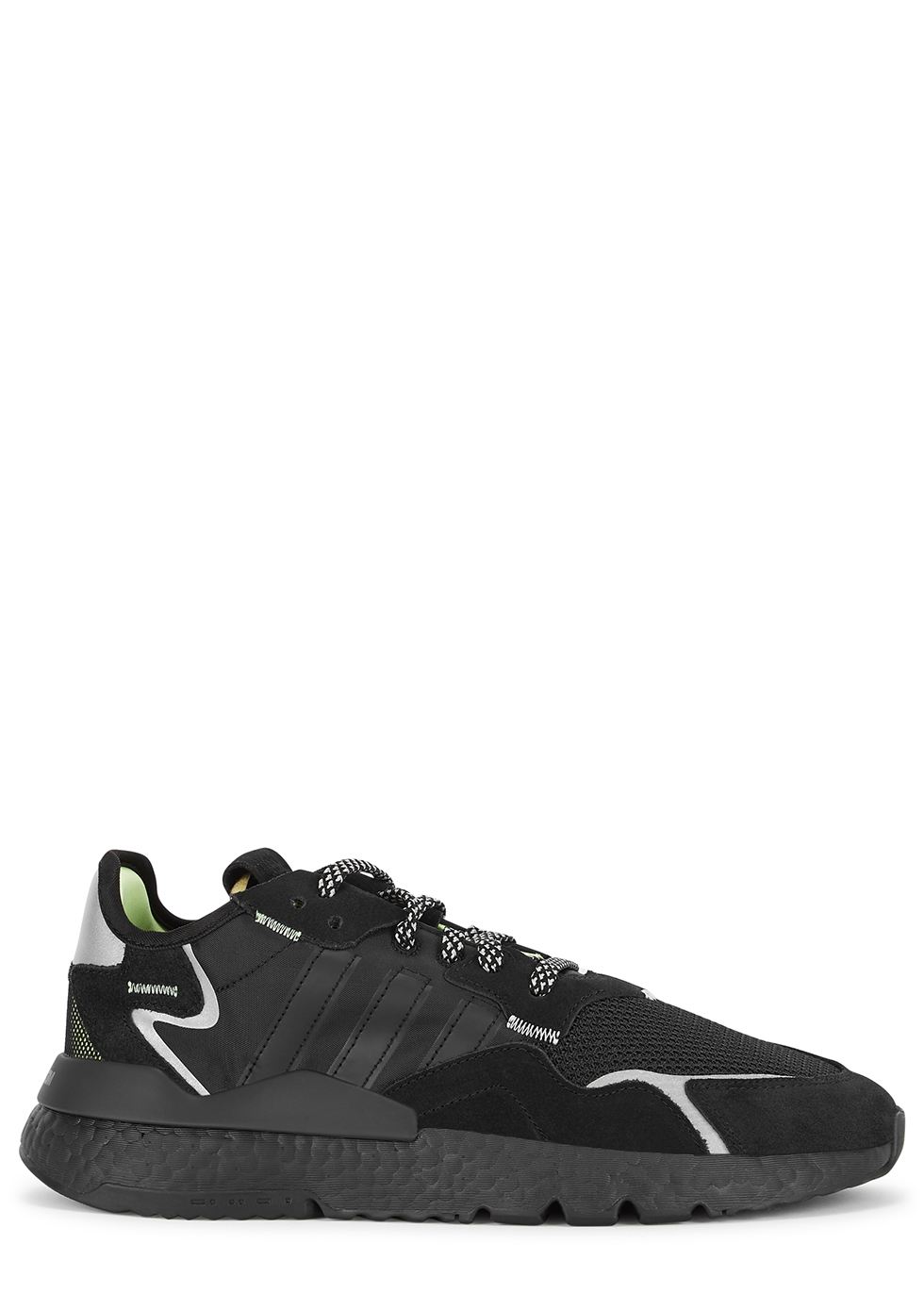 Nite Jogger black panelled sneakers