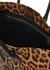Rive Gauche leopard-print canvas tote - Saint Laurent