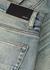 Dusty blue slim-leg jeans - Amiri