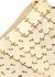 Square Nano 69 gold-tone shoulder bag - Paco Rabanne