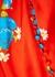 Ohio floral-print satin maxi dress - De La Vali