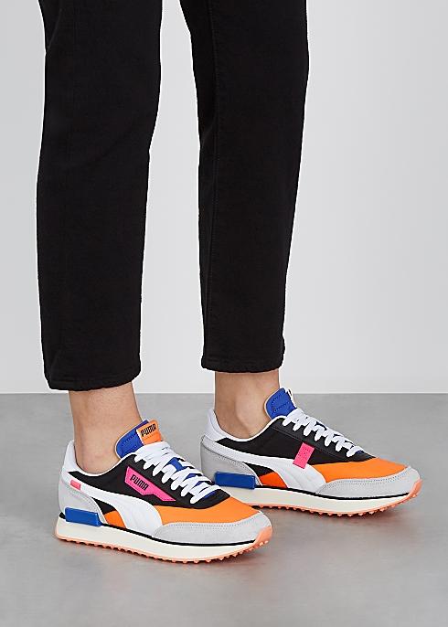 donde puedo comprar valor por dinero calidad y cantidad asegurada Puma Future Rider Play On panelled sneakers - Harvey Nichols
