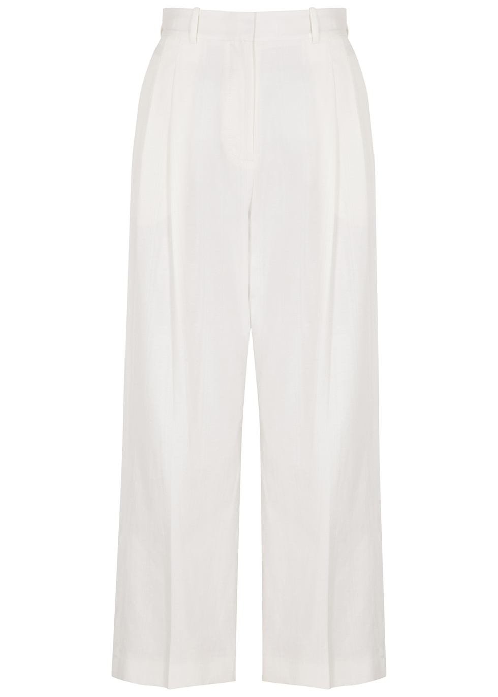 Robert ivory cropped twill trousers