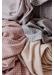 Quiet grey gingham lambswool blanket - The Tartan Blanket Co.