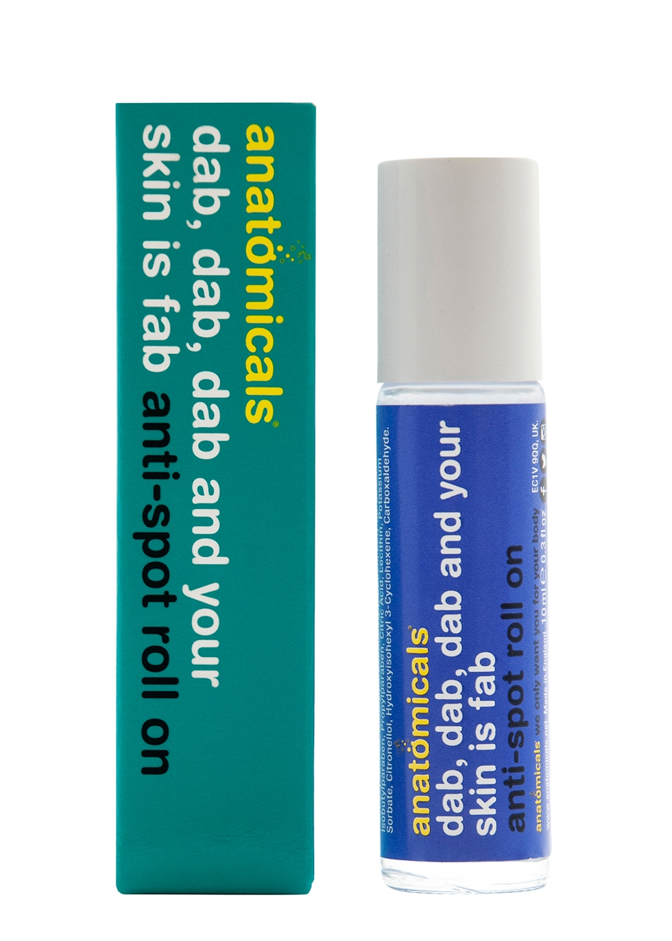 Dab Dab Dab And Your Skin Is Fab Anti-Spot Roll On