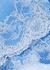Lace Affair blue lace-trimmed thong - Wacoal
