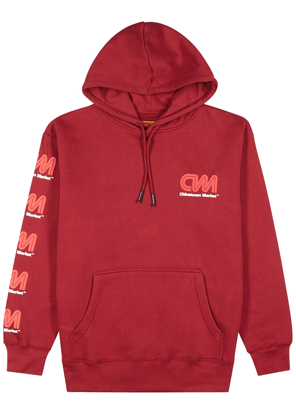 Most Trusted hooded cotton-blend sweatshirt