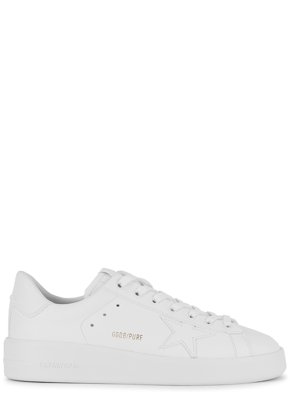 pure leather sneakers