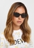 Star-embellished cat-eye sunglasses - Gucci