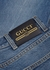Blue cropped slim-leg jeans - Gucci