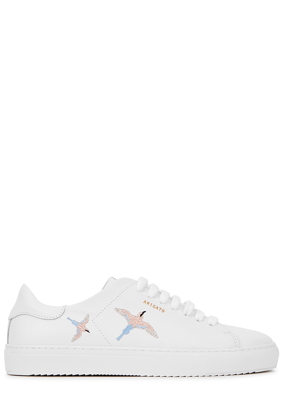 Axel Arigato Clean 90 white embroidered