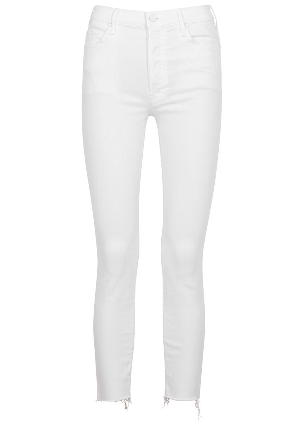 The Stunner white skinny jeans