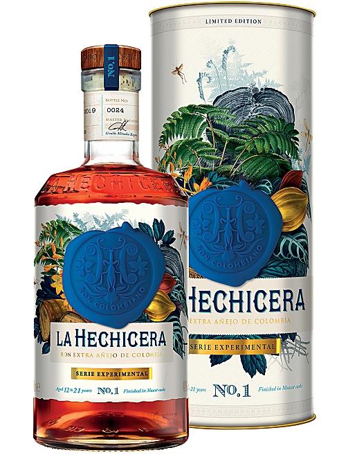 RON LA HECHICERA Serie Experimental No.1 Muscat Cask Extra Añejo Rum