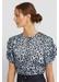 Ally animal print blouse - Rebecca Minkoff