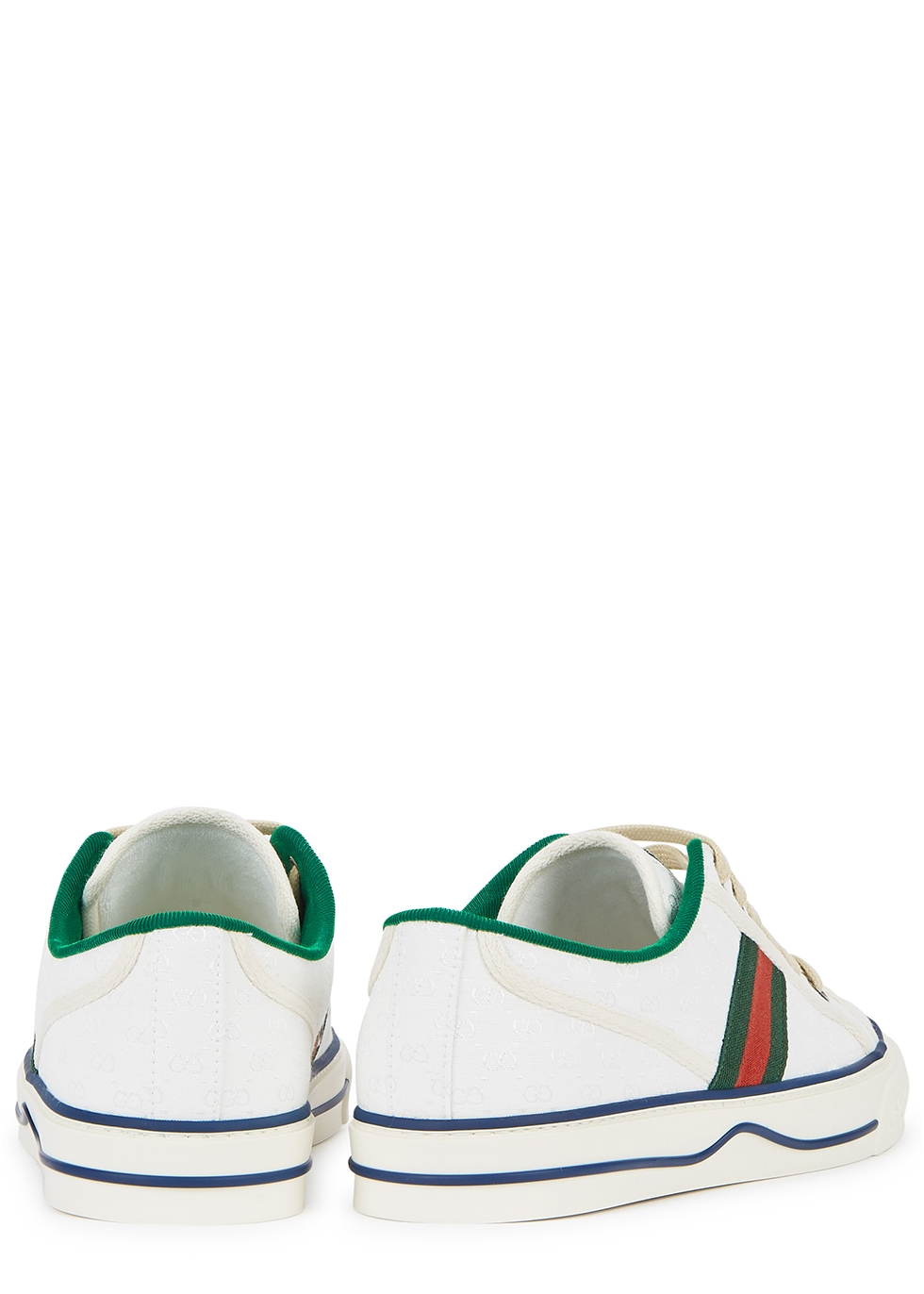 Gucci Tennis 1977 white canvas sneakers