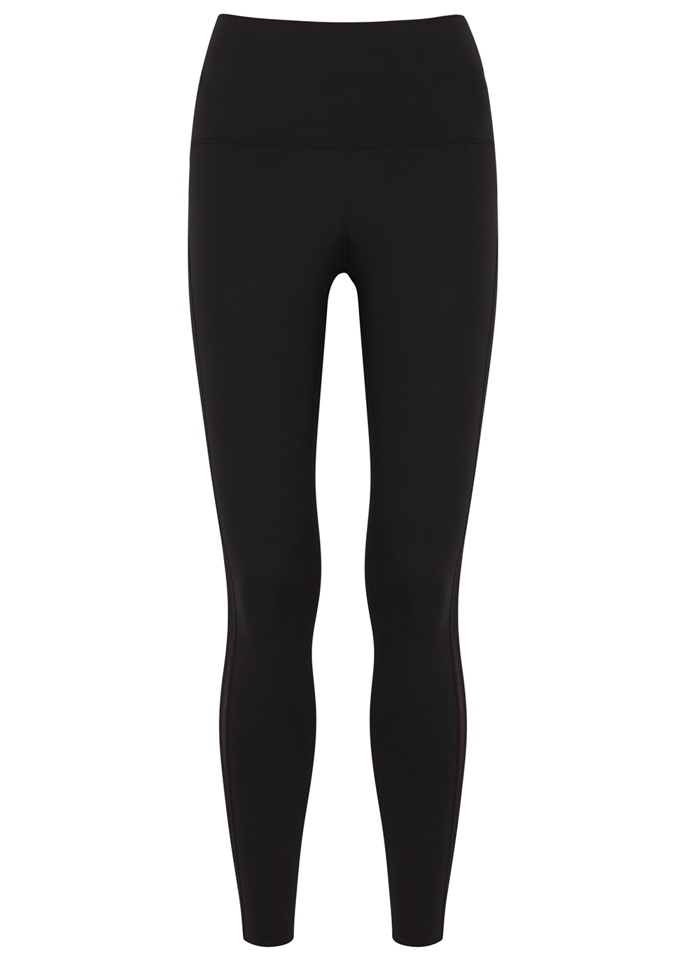 Sutton black panelled leggings