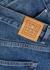 Ease blue straight-leg jeans - Totême