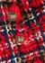 Tartan tweed shorts - Balmain