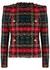 Tartan tweed jacket - Balmain