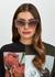Blush cat-eye sunglasses - Alexander McQueen