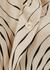 Ivory printed satin shirt - Victoria, Victoria Beckham