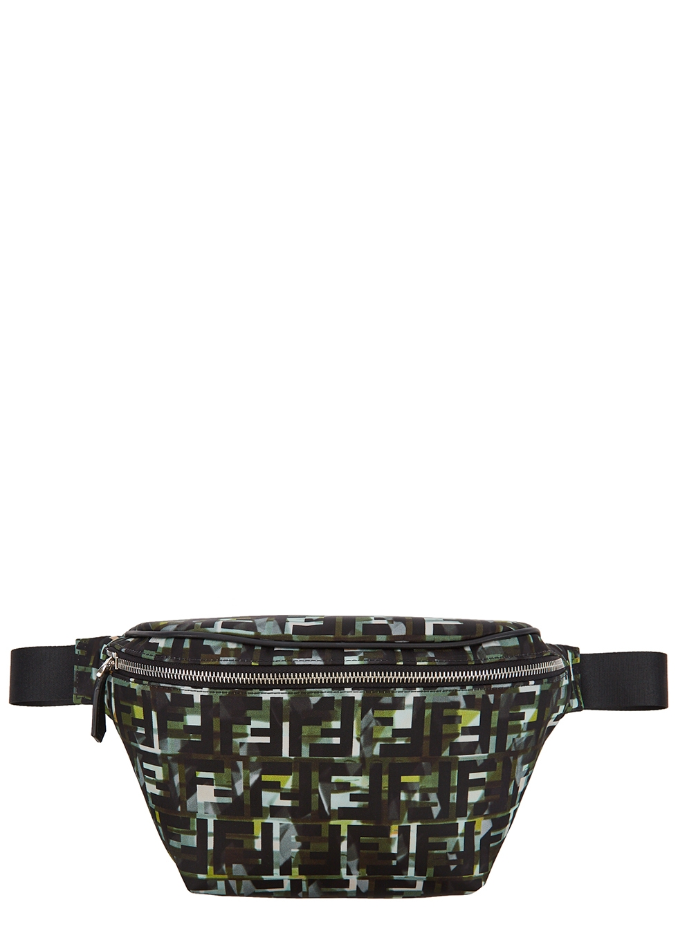 FF printed nylon belt bag