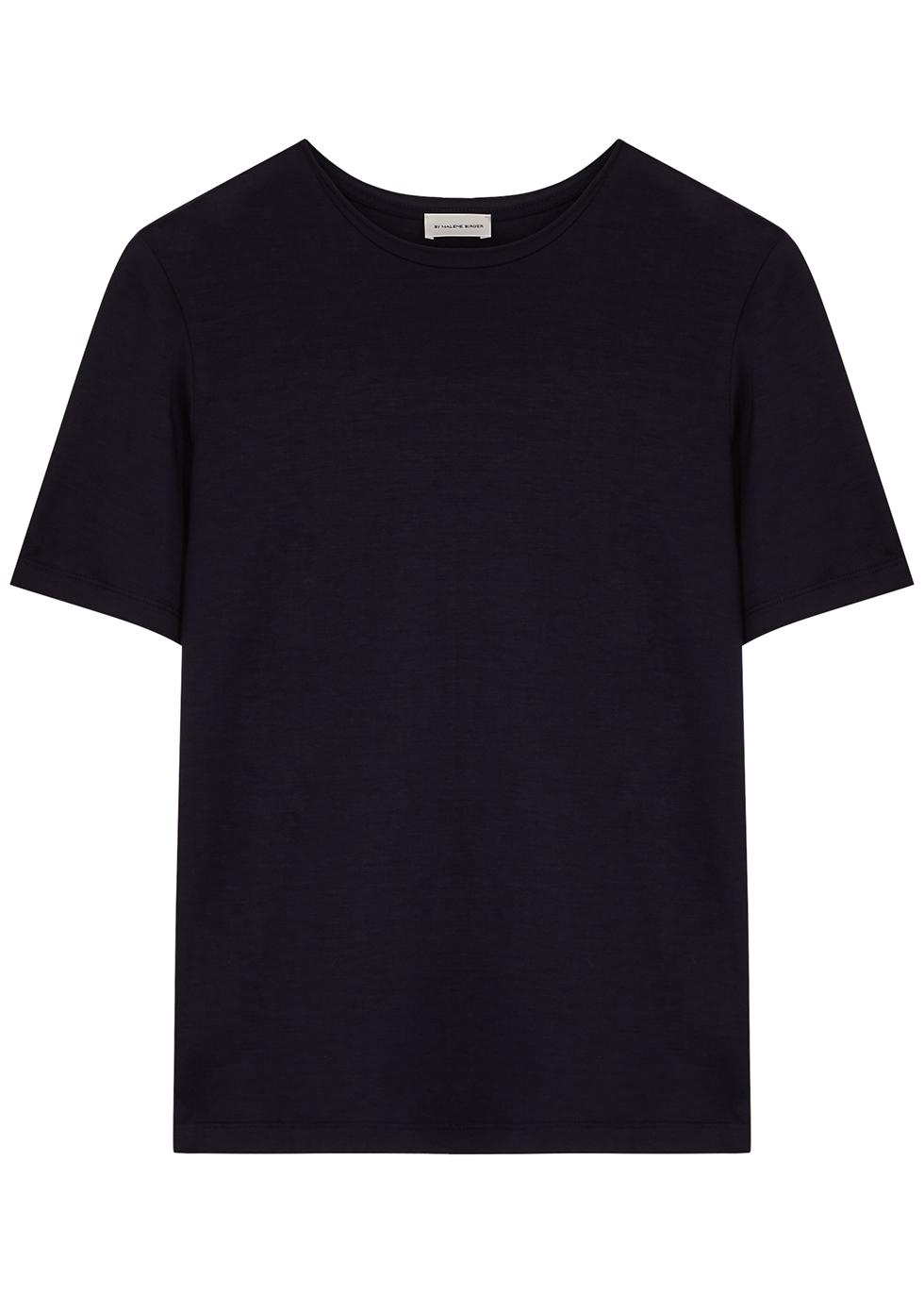 Amatta navy Lyocell T-shirt