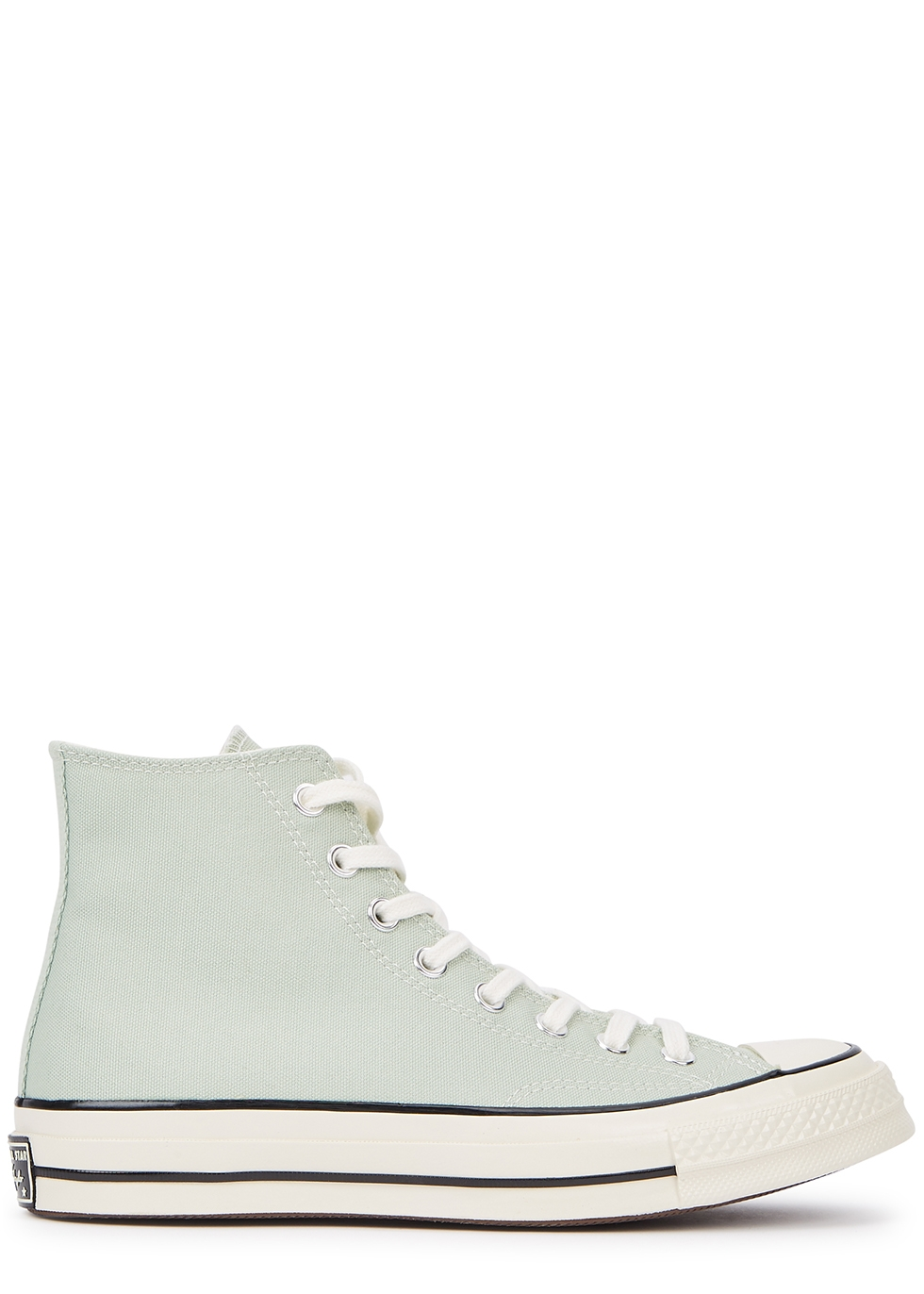 Chuck 70 mint canvas hi-top sneakers