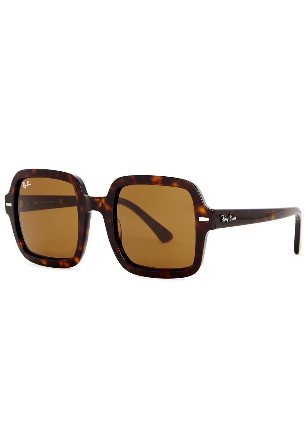 ray ban square frame sunglasses