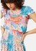 Whispers watercolour midi dress in multicoloured - Traffic People