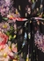 Floral Diamond fil coupé chiffon maxi dress - Needle & Thread