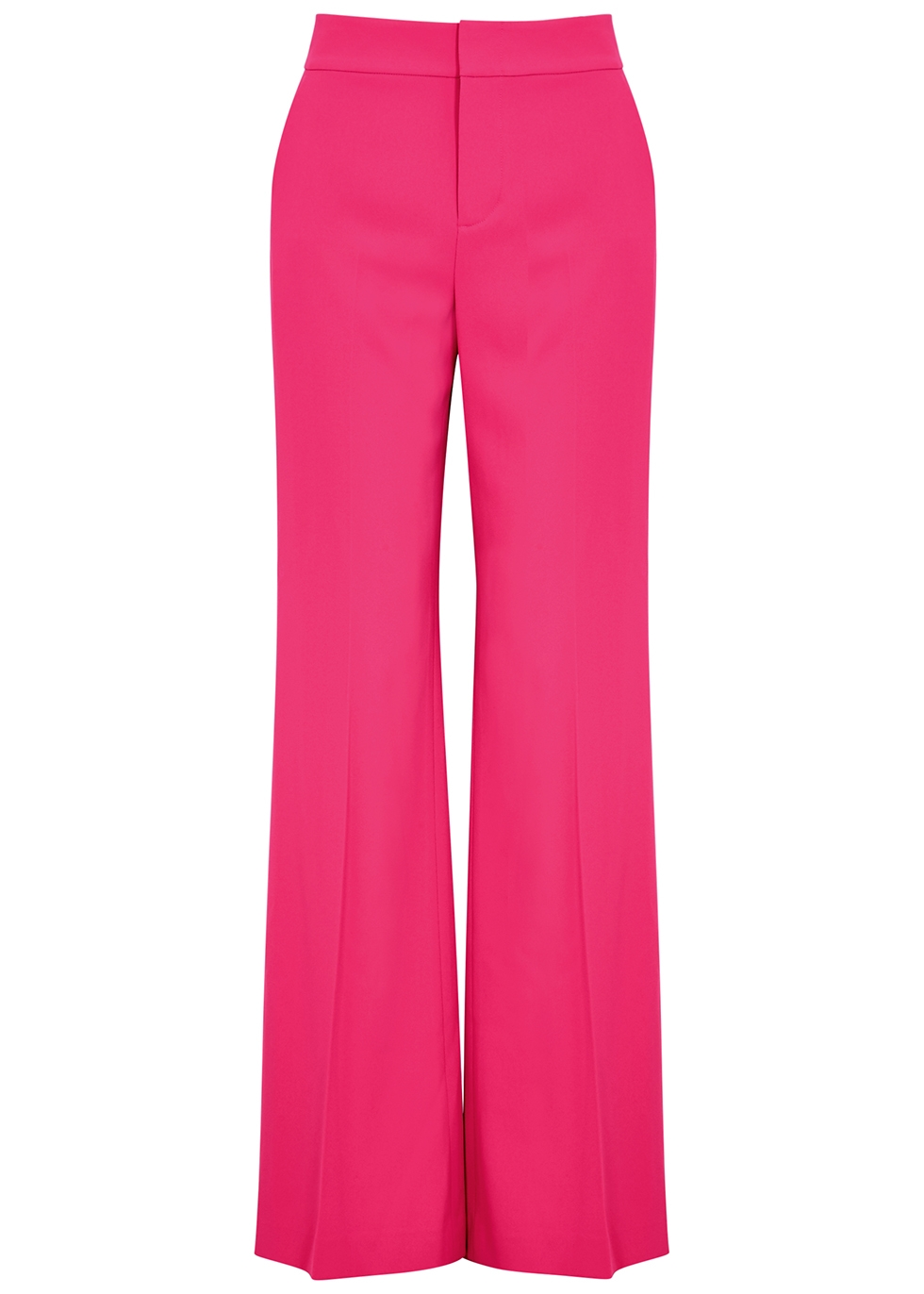 Dylan fuchsia wide-leg trousers