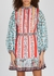 Maya printed cotton mini dress - Alice + Olivia