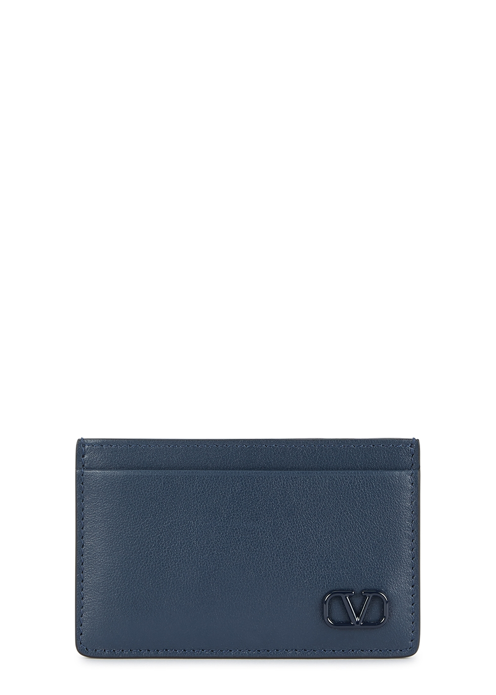 Valentino Garavani VLogo leather card holder